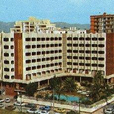 Postales: GANDÍA VALENCIA PLAYA GANDÍA HOTEL LOS ROBLES ALGO ESCRITA EDICIONES FISA. Lote 25743329