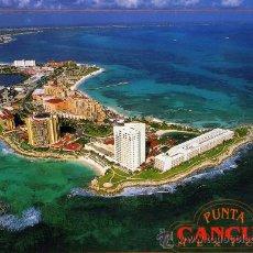 Postales: VISTA AÉREA DEL HOTEL CAMINO REAL PUNTA CANCÚN MEXICO NUEVA SIN CIRCULAR . Lote 26237490