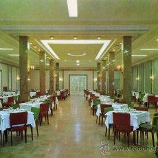Postales: CALATAYUD Nº 700 HOTEL ROGELIO COMEDOR PRINCIPAL EN LA CARRETERA DE MADRID A BARCELONA NUEVA . Lote 26668466