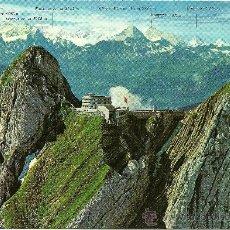 Postales: SUIZA - PILATUS - KULM - HOTEL BELLEVUE - AÑOS 70. Lote 26996559