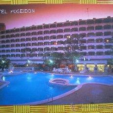 Postales: POSTAL HOTEL POSEIDON - BENIDORM - SIN CIRCULAR. Lote 27074775