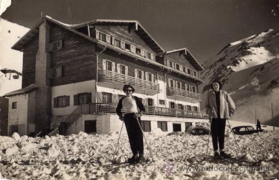 HOTEL CANDANCHU CANFRANC CANDANCHU EDICIONES SICILIA ESCRITA CIRCULADA CON SELLO (Postales - Postales Temáticas - Hoteles y Balnearios)