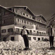 Postales: HOTEL CANDANCHU CANFRANC CANDANCHU EDICIONES SICILIA ESCRITA CIRCULADA CON SELLO. Lote 27166413