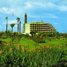 Postales - LAS PALMAS DE GRAN CANARIAS Nº 474 HOTEL FARO PLAYA DE MASPALOMAS ESCRITA CIRCULADA SELLO - 27362013