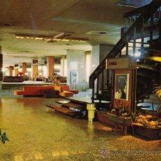 Postales: MADRID HOTEL BARAJAS ESCRITA CIRCULADA SELLO EDICIONES FISA DOMINGUEZ ESCUDO DE ORO. Lote 27530014