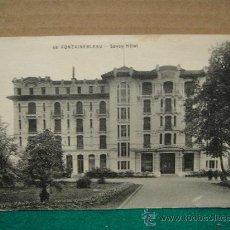 Postales: FONTAINEBLEAU HOTEL SAVOY SIN CIRCULAR. Lote 28019929