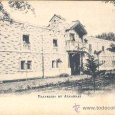 Postales: BALNEARIO DE ALCARRAZ (LÉRIDA). Lote 28178098