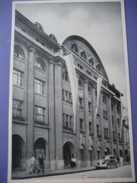 HOTEL RESTAURANTE VOLKSHAUS. BERN. SUIZA. POSTAL SIN CIRCULAR (Postales - Postales Temáticas - Hoteles y Balnearios)