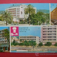 Postales: HOTELES DE LA CADENA MELIÁ. Lote 29315572
