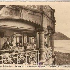 Postales: SAN SEBASTIAN -LA PERLA DEL OCEANO- FOTO WILLY KOCH. Lote 29382143