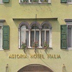 Postales: ASTORIA HOTEL ITALIA. UDINE. Lote 30522659