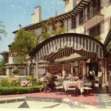 Postales: HOTEL REINA CRISTINA ALGECIRAS COSTA DEL SOL SIN CIRCULAR TERRAZA DEL RESTAURANTE . Lote 30651923