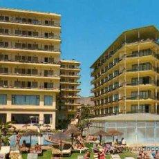 Postales: HOTEL AMARAGUA HOTEL JORGE V TORREMOLINOS Nº 1186 EDISOL ESCRITA SIN CIRCULAR . Lote 30674817