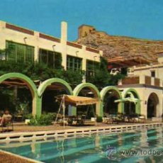 Postales: HOTEL MESON CASTELL CASTELL DE FERRO GRANADA VISTA PARCIAL PISCINA ESCRITA SIN CIRCULAR . Lote 30685836