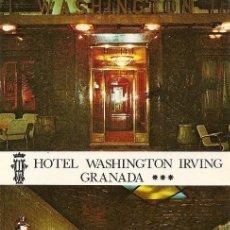 Postales: HOTEL WASHINGTON IRVING (GRANADA) 1979. Lote 206227725