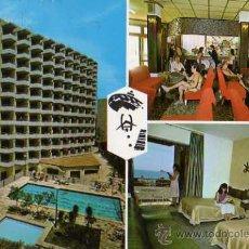 Postales: HOTEL ACAPULCO BENIDORM POSTALES GALIANA ESCRITA CIRCULADA SELLOS. Lote 30768426
