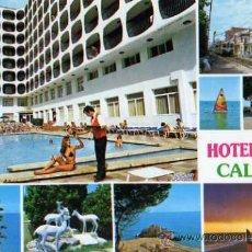 Postales: HOTEL OSIRIS CALELLA FOTO NICO SIN CIRCULAR . Lote 30768440