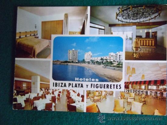 HOTEL-H1-NO ESCRITA-HOTEL IBIZA PLAYA Y FIGUERETES-IBIZA (Postales - Postales Temáticas - Hoteles y Balnearios)