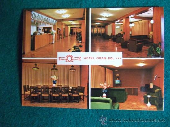 HOTEL-H1-NO ESCRITA-HOTEL GRAN SOL-SOLSONA-LERIDA (Postales - Postales Temáticas - Hoteles y Balnearios)