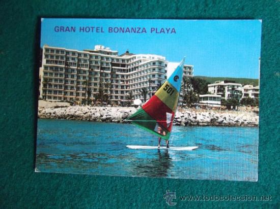 HOTEL-H1-NO ESCRITA-HOTEL BONANZA PLAYA-MALLORCA (Postales - Postales Temáticas - Hoteles y Balnearios)
