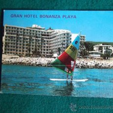 Postales: HOTEL-H1-NO ESCRITA-HOTEL BONANZA PLAYA-MALLORCA. Lote 31132551