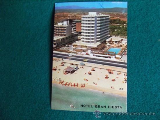 HOTEL-H1- ESCRITA-HOTEL GRAN FIESTA-PLAYA DE PALMA-MALLORCA (Postales - Postales Temáticas - Hoteles y Balnearios)