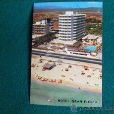 Postales: HOTEL-H1- ESCRITA-HOTEL GRAN FIESTA-PLAYA DE PALMA-MALLORCA. Lote 31132580