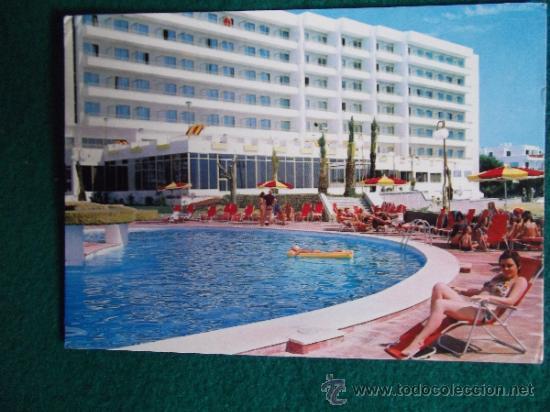 HOTEL-H1- ESCRITA-HOTEL TORRE DEL MAR-IBIZA (Postales - Postales Temáticas - Hoteles y Balnearios)