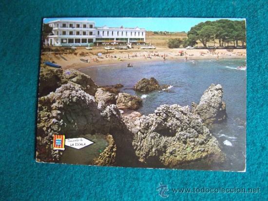 HOTEL-H1- ESCRITA-HOTEL AMPURIAS-LA ESCALA-COSTA BRAVA (Postales - Postales Temáticas - Hoteles y Balnearios)