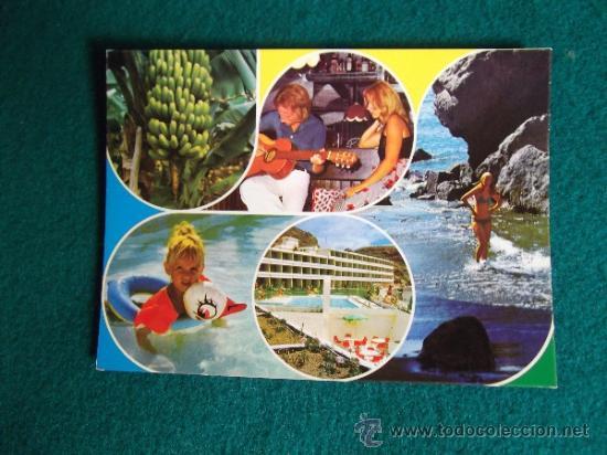 HOTEL-H1- ESCRITA-HOTEL APART-RIVIERA-PLAYA DEL CURA-GRAN CANARIA (Postales - Postales Temáticas - Hoteles y Balnearios)