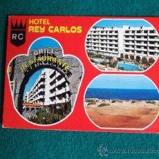 Postales: HOTEL-H1- ESCRITA-HOTEL REY CARLOS-PLAYA DEL INGLES-GRAN CANARIA. Lote 31132902