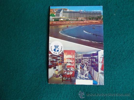 HOTEL-H1-NO ESCRITA-HOTEL DON GREGORY-SAN AGUSTIN-GRAN CANARIA (Postales - Postales Temáticas - Hoteles y Balnearios)