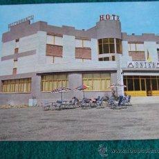 Postales: HOTEL-H2-NO ESCRITA-HOTEL MONTERMOSO-ARANDA DE DUERO-BURGOS. Lote 31170825