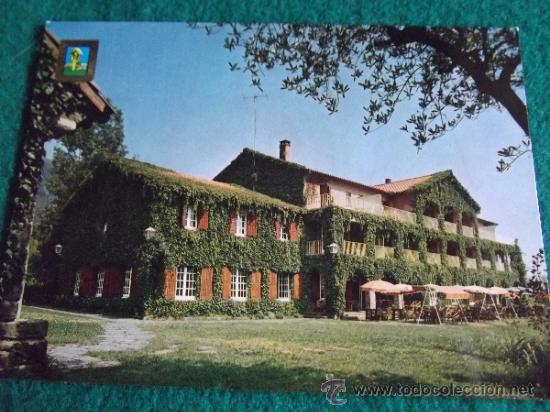 HOTEL-H2-NO ESCRITA-HOTEL SAN BERNAT-BARCELONA (Postales - Postales Temáticas - Hoteles y Balnearios)