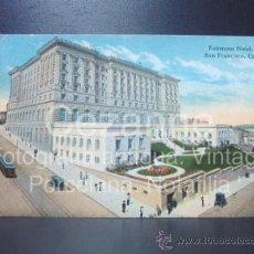Postales: POSTAL. FAIRMONT HOTEL. SAN FRANCISCO. EEUU. SIN USAR. COCHES. . Lote 31517925