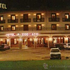 Postales: HOTEL R. ZODIACO BAILEN VISTA NOCTURNA Nº 39 ESCRITA CIRCULADA SELLO PAPELERIA LOZANO. Lote 31703763
