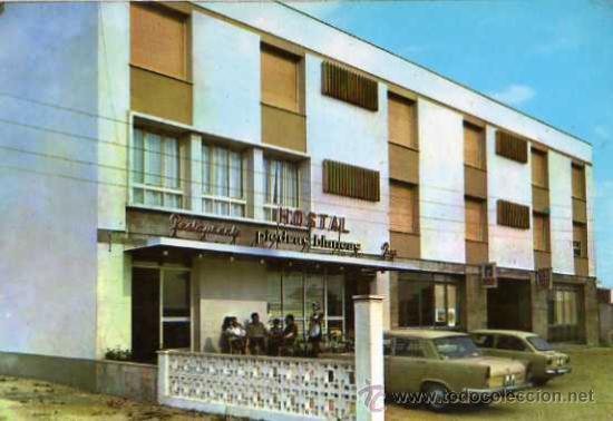 OLMEDO HOSTAL PIEDRAS BLANCAS Nº 2 HELIOTIPIA ARTÍSTICA ESPAÑOLA SIN CIRCULAR (Postales - Postales Temáticas - Hoteles y Balnearios)