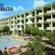 Postales: HOTEL CABRERA COLONIA SANT JORDI MALLORCA ESCRITA CIRCULADA SELLO FLOR DE ALMENDRO. Lote 31751460