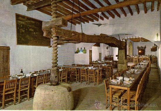 POSTAL DE MALLORCA PREDIO SON MAR RESTAURANTE - HOTEL (Postales - Postales Temáticas - Hoteles y Balnearios)