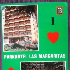 Postales: GRAN CANARIA - PLAYA DEL INGLÉS - PARKHOTEL LAS MARGARITAS I. Lote 32136664