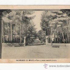 Postales: VALENCIA.-BALNEARIO DE BELLUS.-HUECOGRABADO FOURNIER. Lote 32182866