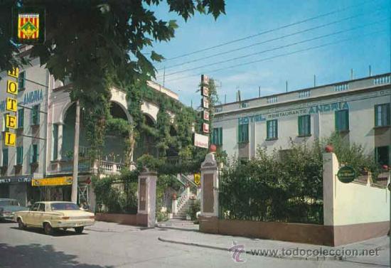 POSTAL - HOTEL ANDRIA - LA SEO DE URGEL - LLEIDA (Postales - Postales Temáticas - Hoteles y Balnearios)