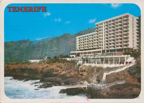 POSTAL - HOTEL DE LOS GIGANTES - TENERIFE - GARCIA Y CORREA S.L. - 3068 (Postales - Postales Temáticas - Hoteles y Balnearios)