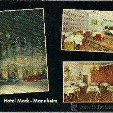 Postales: HOTEL MACK - MANHEIM - ALEMANIA - SIN CIRCULAR - AÑOS 60. Lote 32641616