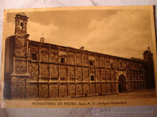 Postales: ANTIGUA TARJETA POSTAL ORIGINAL DE P.P.S.XX SELLO HOTEL MONASTERIO PIEDRA SERIE A Nº 2, C.1920 - Foto 2 - 33272110
