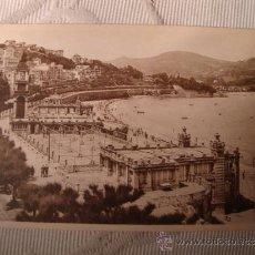 Postales: ANTIGUA TARJETA POSTAL ORIGINAL SAN SEBASTIAN, BALNEARIO DE LA PERLA, FOTO. GALARZA, C. 1920. Lote 33299179