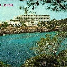 Postales: HOTEL CALA ESMERALDA - CALA D'OR - MALLORCA - EDICIONES PALMA - CIRCULADA. Lote 34352652