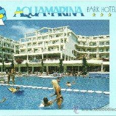 Postales: AQUAMARINA PARK HOTEL - SANTA SUSANNA - BARCELONA - CIRCULADA. Lote 34444128