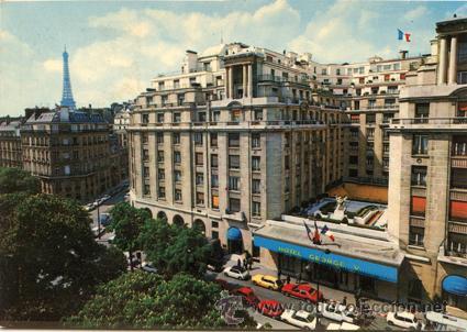 POSTAL *HOTEL GEORGE V - PARÍS* 31, AVENUE GEORGE V - PARIS -- SIN CIRCULAR (Postales - Postales Temáticas - Hoteles y Balnearios)