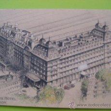 Postales: LONDRES. GROSVENOR HOTEL. SIN CIRCULAR. Lote 35830575